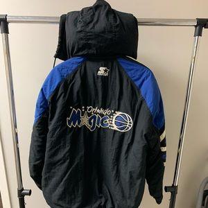 Vintage Orlando Magic starter jacket